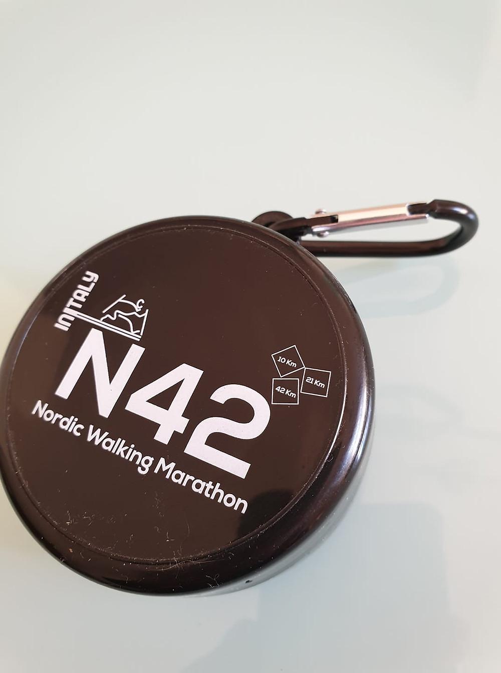 Il bicchiere N42 di NordicwalkinItaly, protagonista dell'iniziativa #ioportoilmiobicchiere per un nordic walking ancora più ecosostenibile