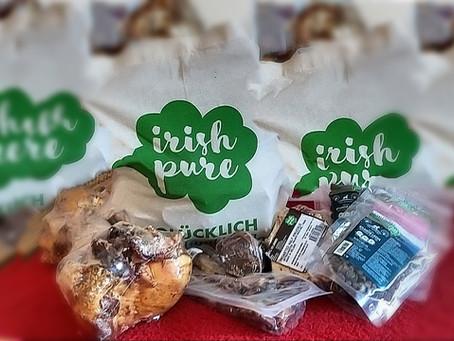Goodie Bag von Irish Pure für das Nationalteam bei der Weltmeisterschaft in Nybro