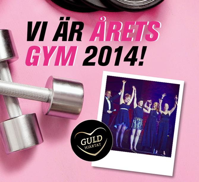 """Rosa Skrot är """"Årets gym 2104"""" !"""