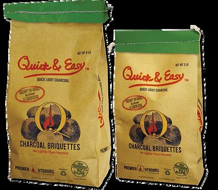 Quick & Easy™ Quick-Light Charcoal Briquettes