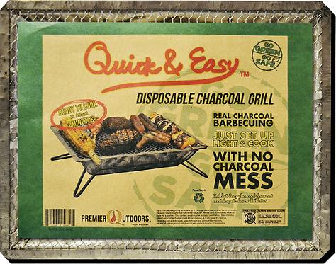Quick & Easy™ Disposable Grill
