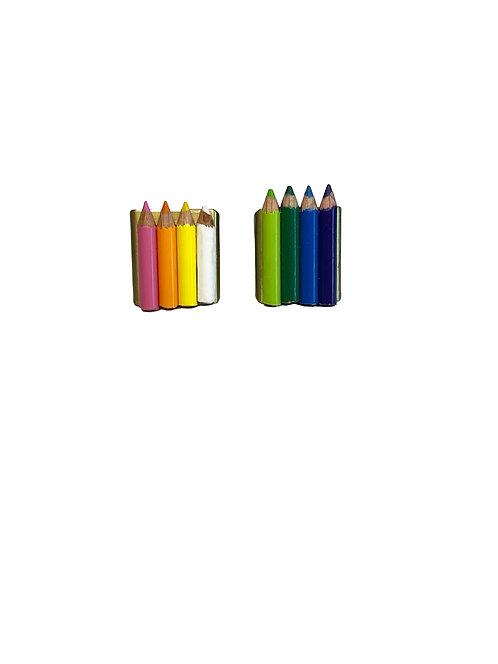Mini Pencil Crayon Rings (adjustable)