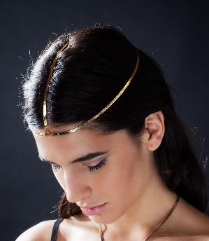 Sequin Chain Headpiece