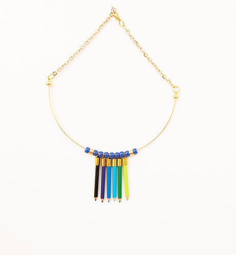 Pencil Crayon Collars