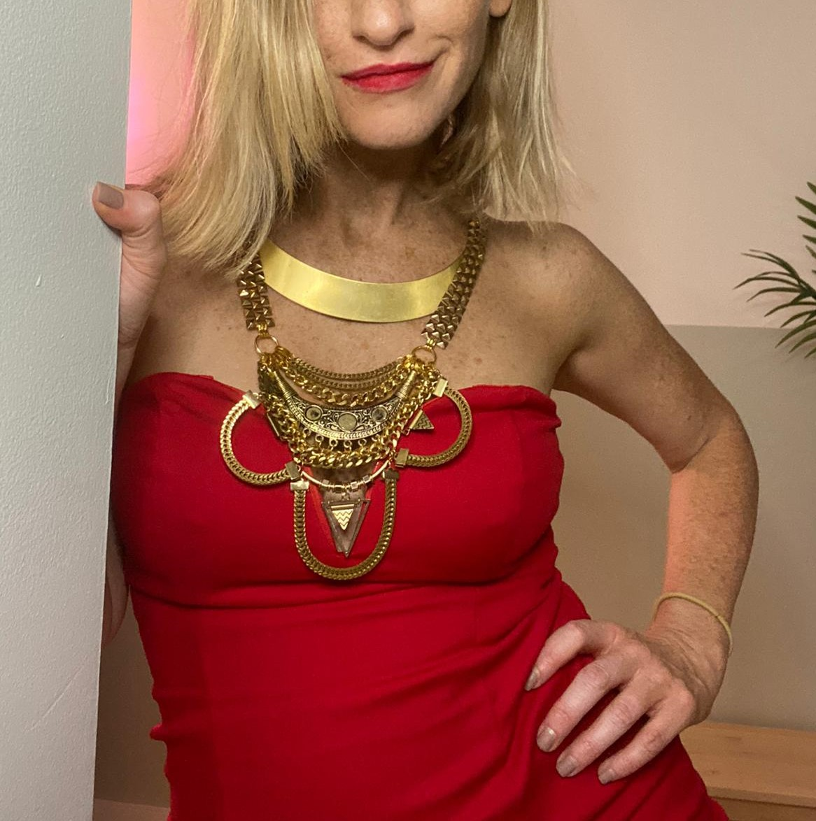 gold necklace3