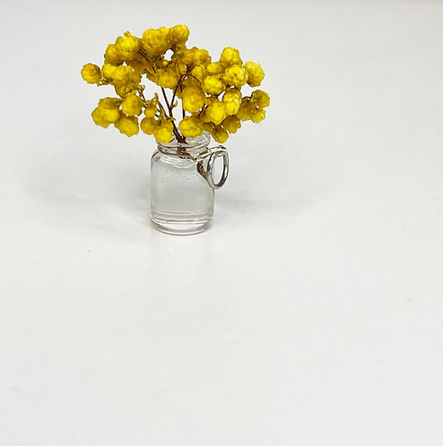 Miniature Vase (with real flowers)