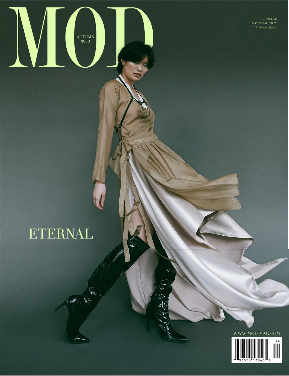 Cover of MOD magazine