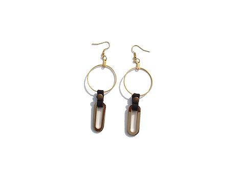 Hoop Chain Earrings