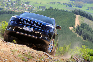 Jeep shoot in country Victoria