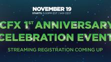 1st Anniversary Event Announcement
