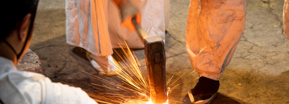 The Making of Damascus Steel (1)