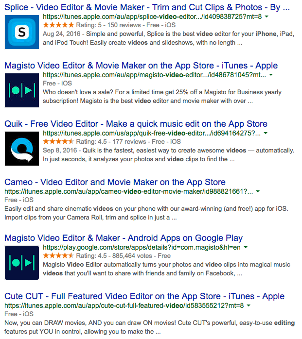 Top 5 free video editing apps