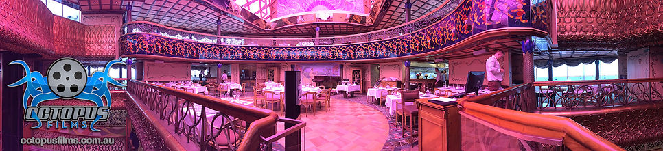 Carnival Spirit Nouveau resturant panoramic photo