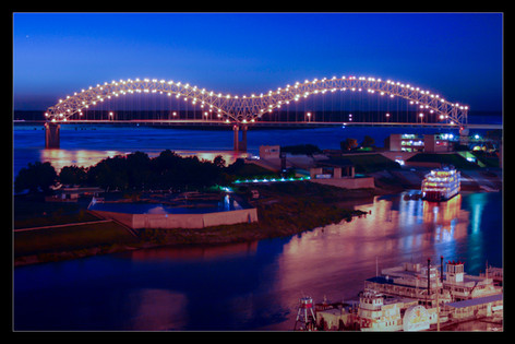 021 Mud Island Bridge-Memphis Photograph