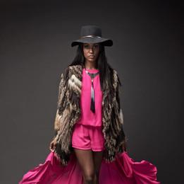 fashion-portrait-hat-pink-skort-flowing-