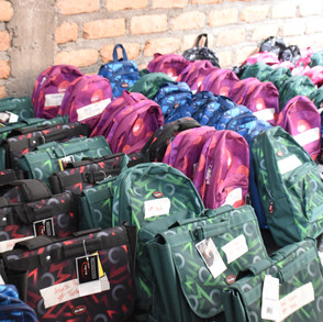 Backpack ready to be delivered in Crucitas (2020)