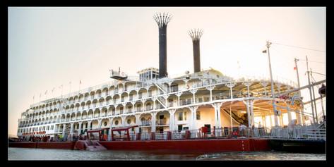 039 Riverboat at dock 2-Memphis Photogra
