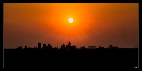 016 Westward Sunset Silhouette-Memphis P