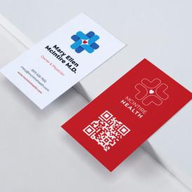 McIntire Health Business Card