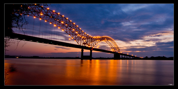 022 Bridge Sunset-Memphis Photography-1.