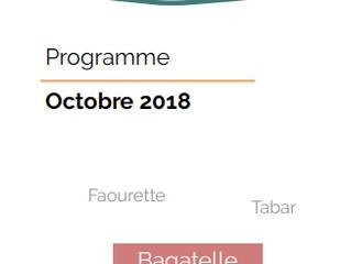 CENTRE SOCIAL BAGATELLE: le programme d'octobre
