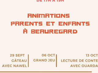 Centre Social - Animations parents et enfants tous les vendredis