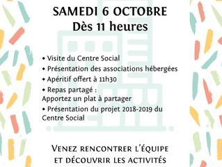 Centre social Polygone: porte ouverte le samedi 6 octobre