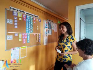 Centre Social Polygone: réseau d'échanges réciproques de savoirs