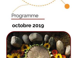 Le programme d'octobre du CS Bagatelle