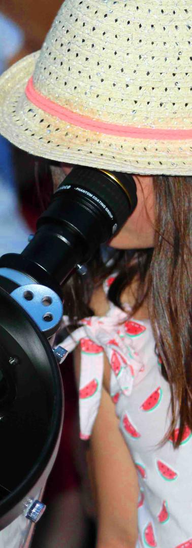 Astronomie au CLAE Emilie de Rodat 2017