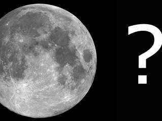 Un quiz sur la lune,  en cocotte en papier