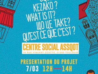 """Centre Social - Présentation du projet """"colab Quartier"""""""