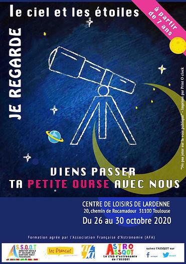 Stages automne 2020 Petite Ourse LARDENN