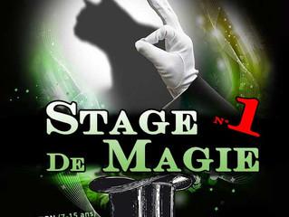 Stage de magie du 17 au 21 février