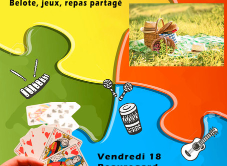 Centre Social - les activités du 14 au 18 Août