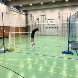 Training für Zuspieler*innen