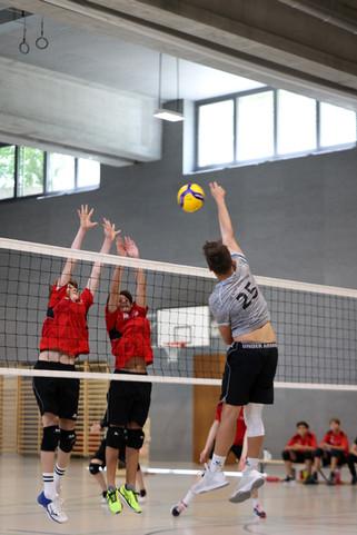 2. Runde U16-NSM gegen Volero Zürich