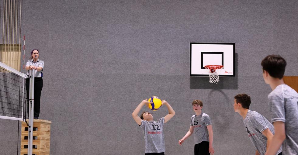 1. Runde NSM U16 gegen Volley Flawil