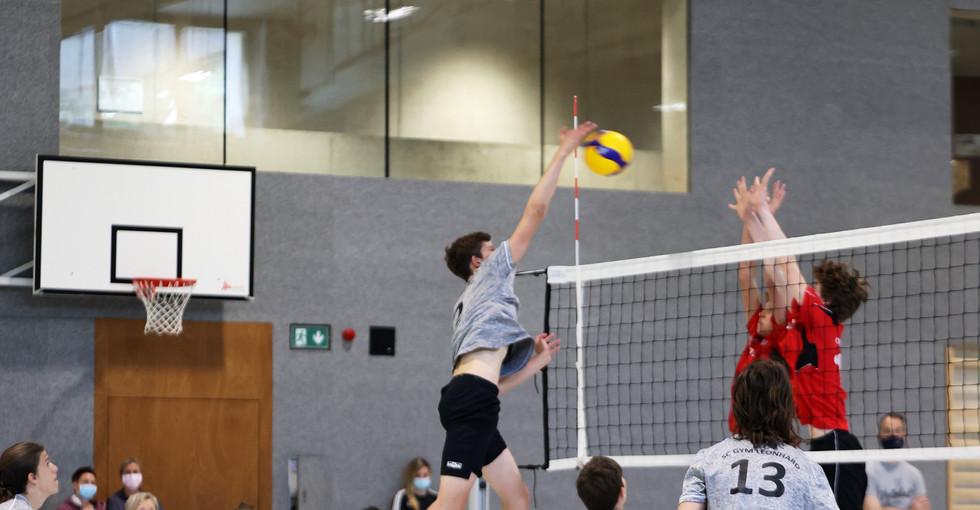 2. Runde NSM U16 gegen Volero Zürich