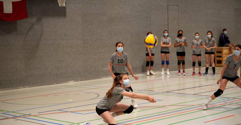 2. Runde NSM U15 gegen BTV Aarau