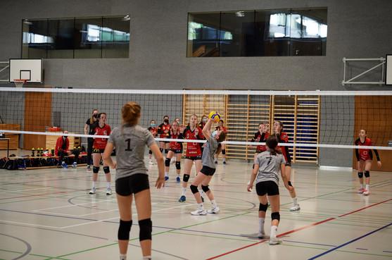 2. Runde U15-NSM gegen BTV Aarau Volleyball