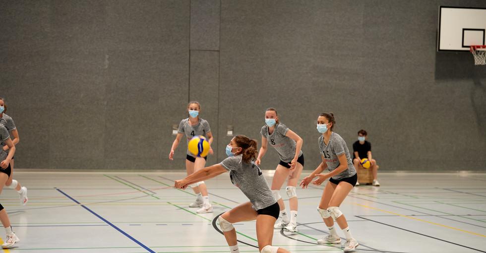 2. Runde NSM U17 gegen Volley Köniz