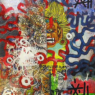 Pierre Ziegler   Zoole   Paintings   Moon rap page 02   Equilibrium is just a vehicle