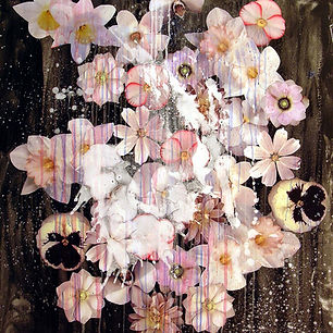 Pierre Ziegler | Zoole | Paintings | Flowerz | Black I