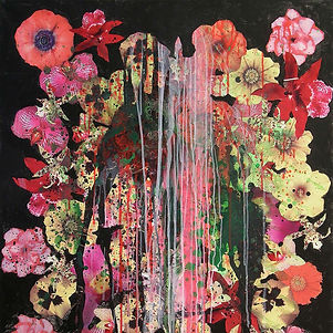Pierre Ziegler | Zoole | Paintings | Flowerz | Black II