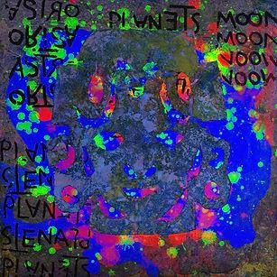 Pierre Ziegler | Zoole | Paintings | Moon rap page 02 | Ghost on plnet Mu UV lights