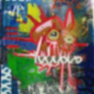 Pierre Ziegler | Zoole | Paintings | Moon rap Alpha | Naked lunch