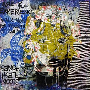 Pierre Ziegler | Zoole | Paintings | Moon rap page 02 | Blood flesh and bones