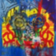 Pierre Ziegler | Zoole | Paintings | Moon rap Alpha | Le Clown