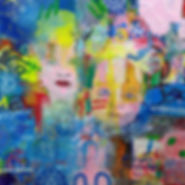 Pierre Ziegler | Zoole | Paintings | Moon rap Alpha | Once upon a rhyme